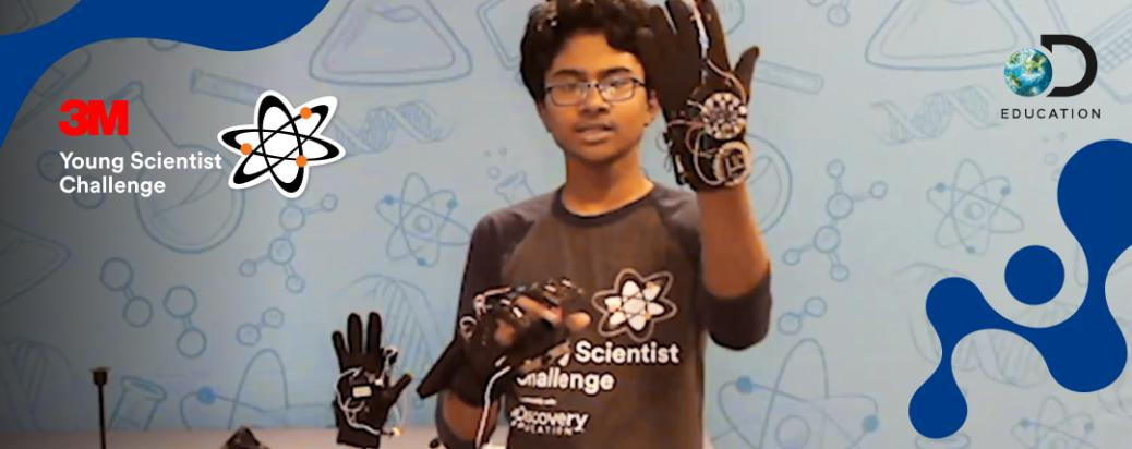 Enter the 2021 3M Young Scientist Challenge