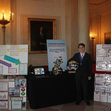 Braeden Benedict's Science Fair Display