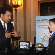 Braeden and Neil deGrasse Tyson